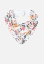 UP Baby - Floral bib - multi