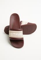 G-Star RAW - Cart slide iii - plum