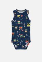 UP Baby - Boys sleeveless bodysuit  - multi