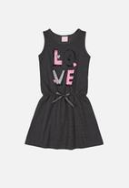 Quimby - Girls sleeveless dress - black