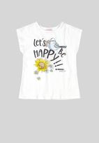 Quimby - Girls tank top - white