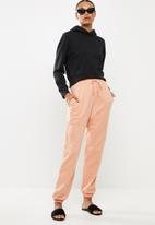 Missguided - Oversized 90s jogger - pink