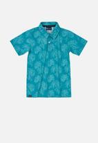 Quimby - Boys printed golfer - blue