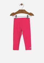 UP Baby - Baby girls leggings -  pink