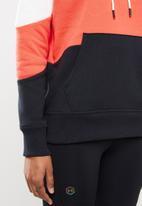 Under Armour - Rival fleece colour block hoodie - multi