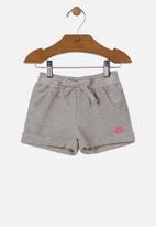UP Baby - Girls sweat shorts - grey