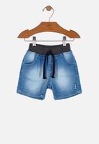UP Baby - Boys bermuda shorts - blue
