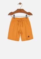 UP Baby - Boys sweat shorts - orange