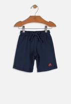 UP Baby - Boys sweat shorts - dark blue