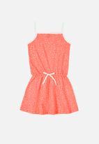 Bee Loop - Printed dress - pink & white