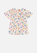 UP Baby - Girls floral dress - multi