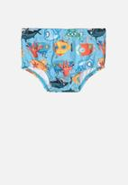 UP Baby - Swimming trunks - blue
