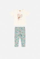 UP Baby - Blouse & leggings set - multi