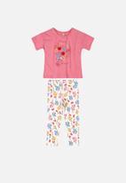 UP Baby - Blouse & leggings set - multi
