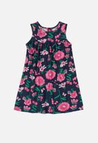 Bee Loop - Girls floral dress - multi
