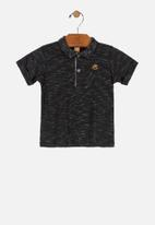 UP Baby - Baby boys golfer - black