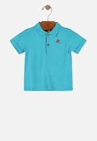 UP Baby - Baby boys golfer - blue