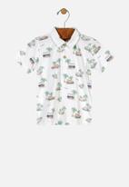 UP Baby - Boys printed shirt - multi