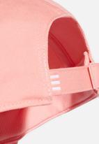 adidas Performance - Bball cap cot - glory pink/glory pink/white