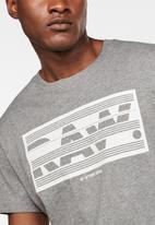 G-Star RAW - Boxed raw gr tee - grey