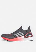 adidas Performance - UltraBOOST 20 - legacy blue / silver met. / signal pink