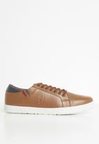 Pringle of Scotland - Mcniel sneaker - brown