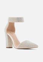 Call It Spring - Bethania heel - silver