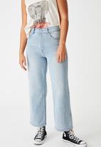 Factorie - Wide leg jean - blue