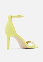 Call It Spring - Ella heel - yellow