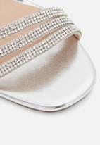 Call It Spring - Elliee heel - silver