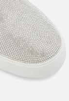 Call It Spring - Glitterqueen sneaker - white