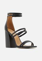 Call It Spring - Guven heel - black