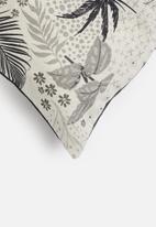 Hertex Fabrics - Wire grass cushion cover - after dark