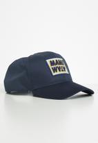 Mami Wata - Trucker mami word marque cap - navy