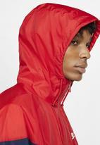 Nike - Nsw he hooded wind runner jacket - multi
