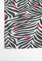 Fox - Retro zebra tubular face masks - mulri