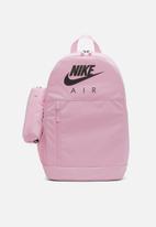 Nike - Nike elemental backpack - pink & black