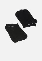 PUMA - 3 Pack secret socks - black
