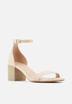 Call It Spring - Makenzie heel - beige