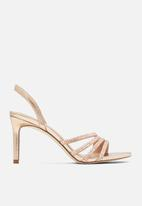 Call It Spring - Maleberry heel - rose gold