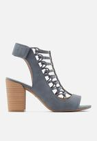 Call It Spring - Paigee heel -  blue