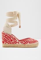 ALDO - Muschino wedge - red