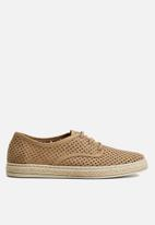 MANGO - Troquel  shoes - light pastel brown
