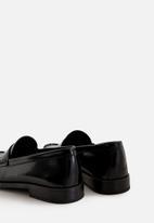 MANGO - Classic bovine leather shoes - black