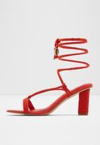 ALDO - Rb-ravel heel - red