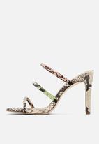 Call It Spring - Ulila heel - black & white