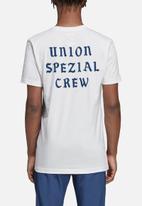 adidas Originals - Union short sleeve tee - white