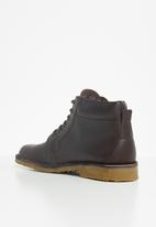 Grasshoppers - Searle boot - choc