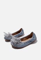 Cotton On - Primo ballet flat - blue