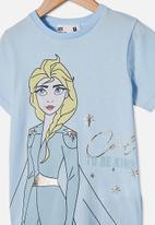Cotton On - Lux short sleeve tee - blue